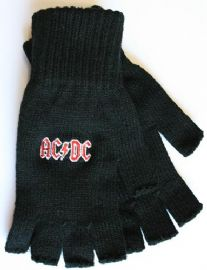 AC/DC - 'Logo' Fingerless Gloves